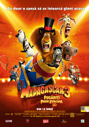 Madagascar 3: Europe's Most Wanted - Madagascar 3: Fugariti prin Europa 2012