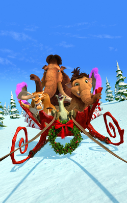 Ice Age : A Mammoth Christmas 2011