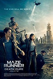Maze Runner : The Death Cure 2018